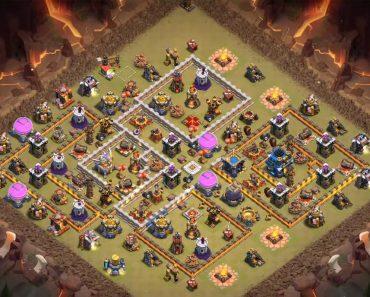 town hall 12 war base