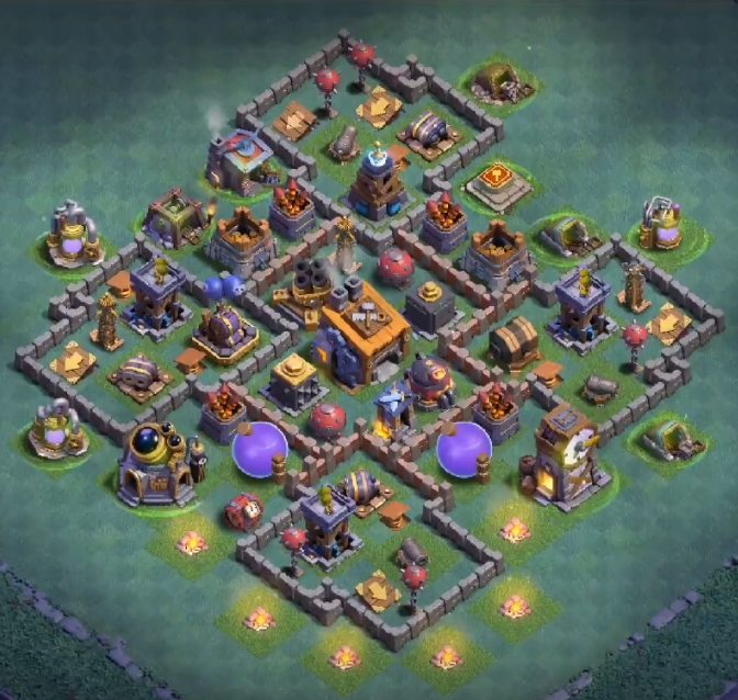 builder hall 8 defence base