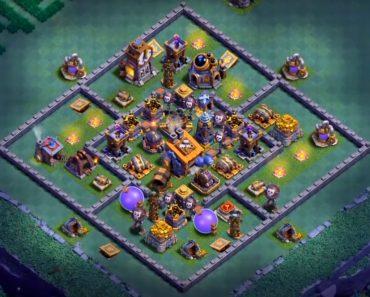 clash of clans good bh8 base