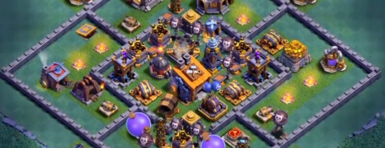 clash of clans good bh8 base