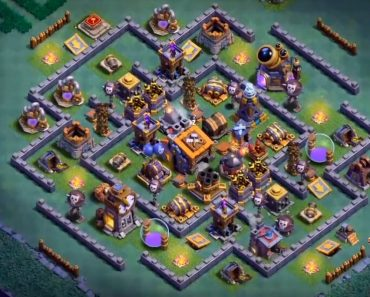 coc builder hall 9 base