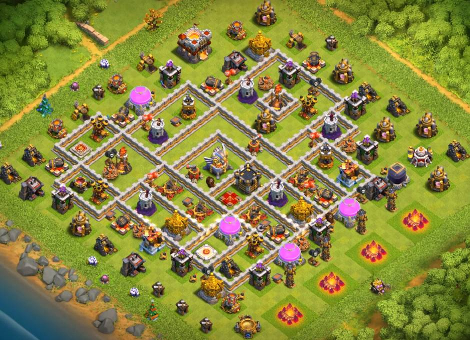 best th11 war base link anti 3 stars