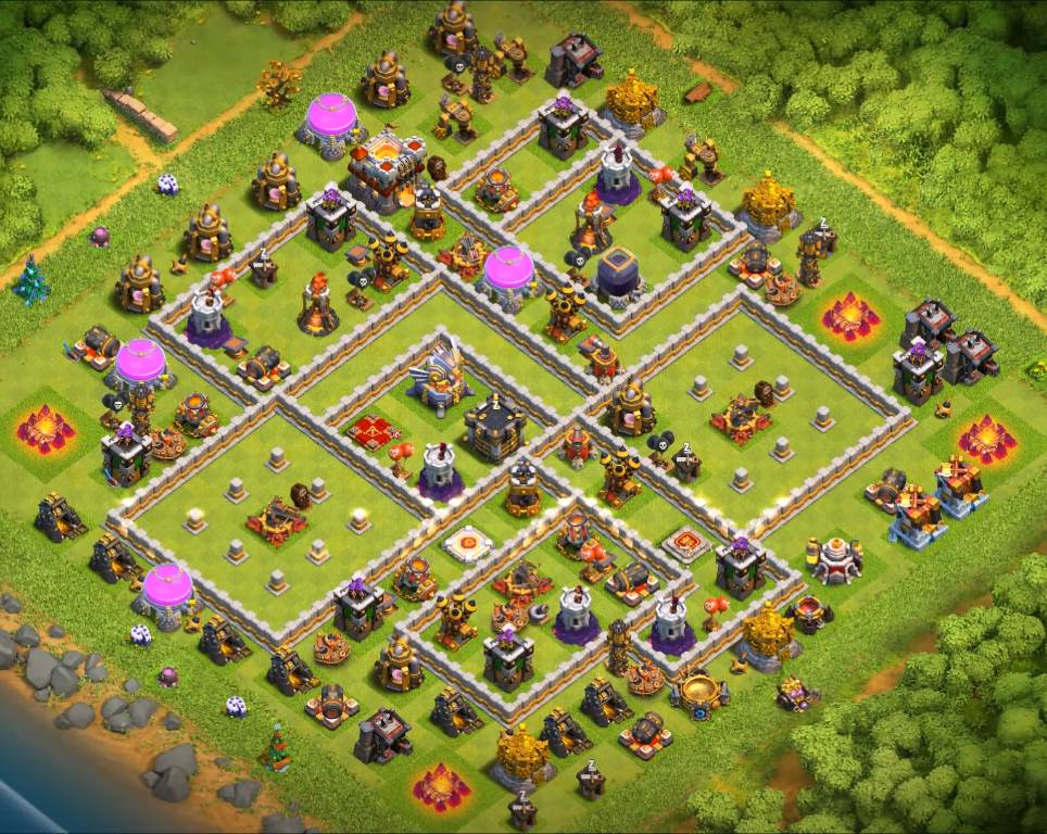 th11 war base link anti 3 stars