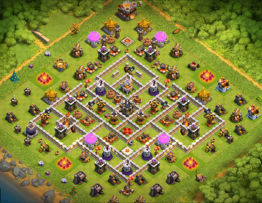 clash of clans war base link th11