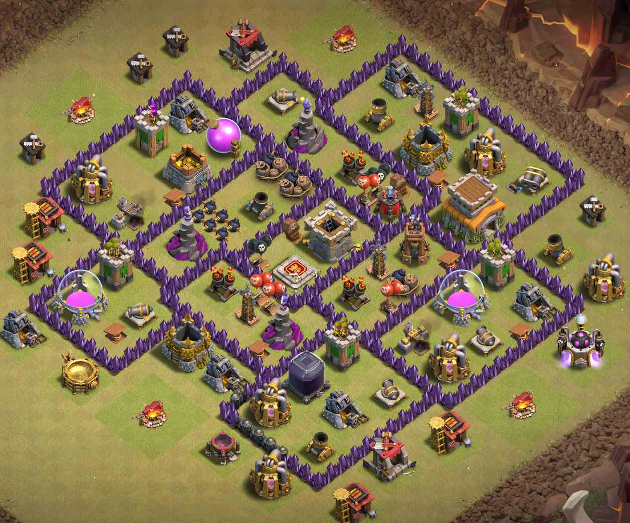 level 8 war base link anti everything