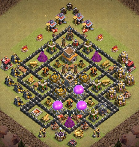 th8 war layout link anti 3 stars