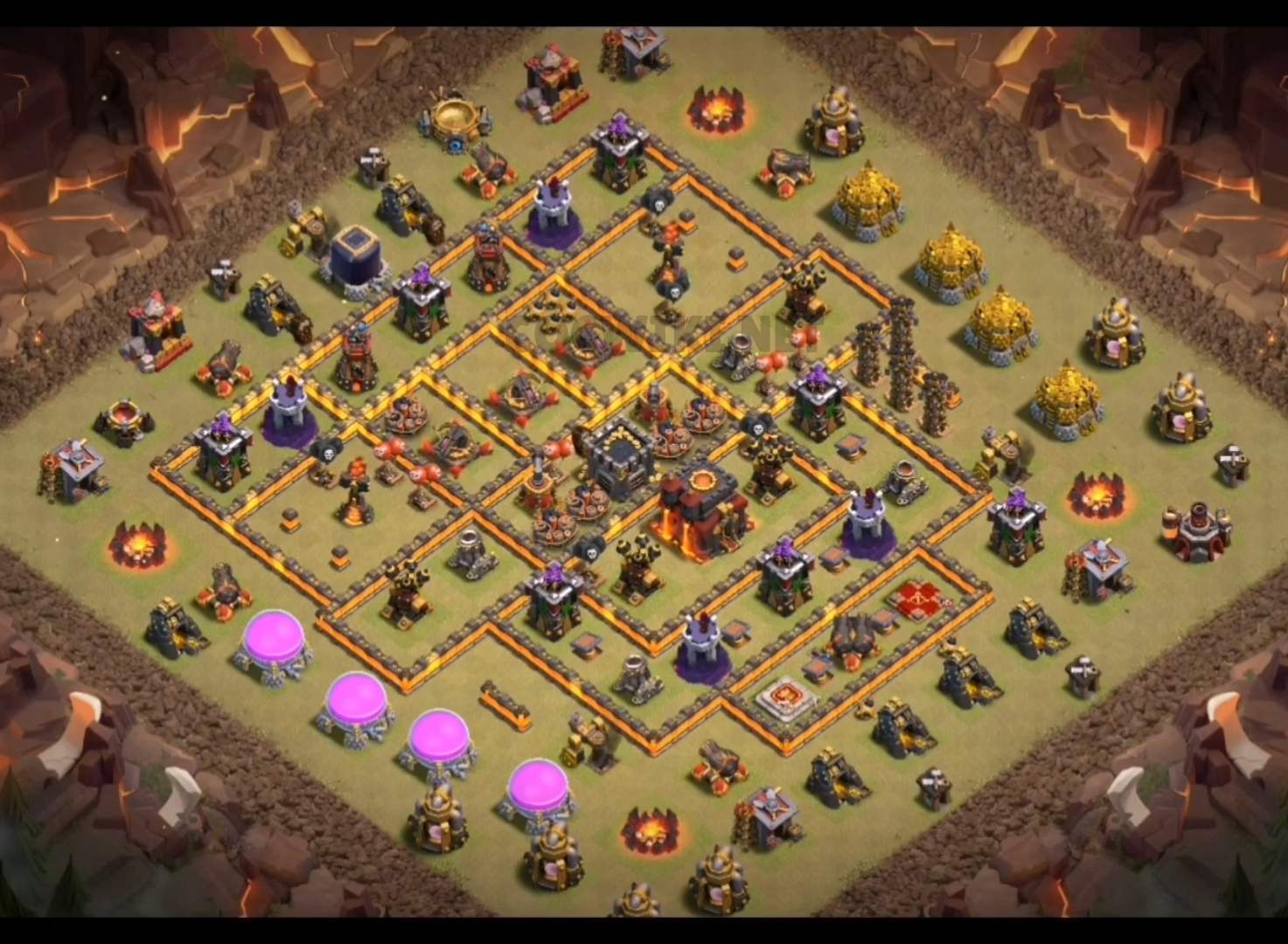 best clash of clans base town hall 10 link