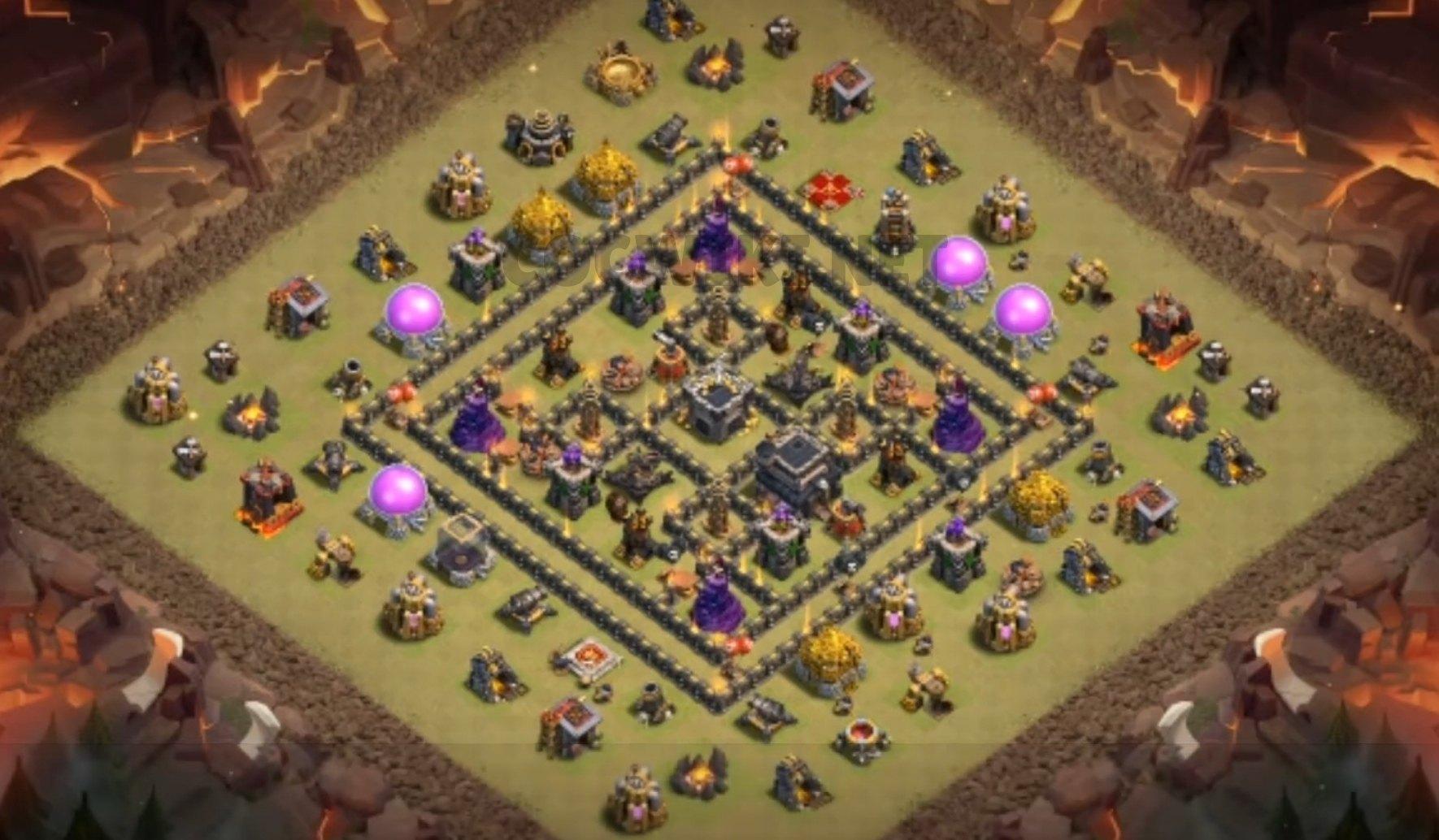 level nine clan war league design