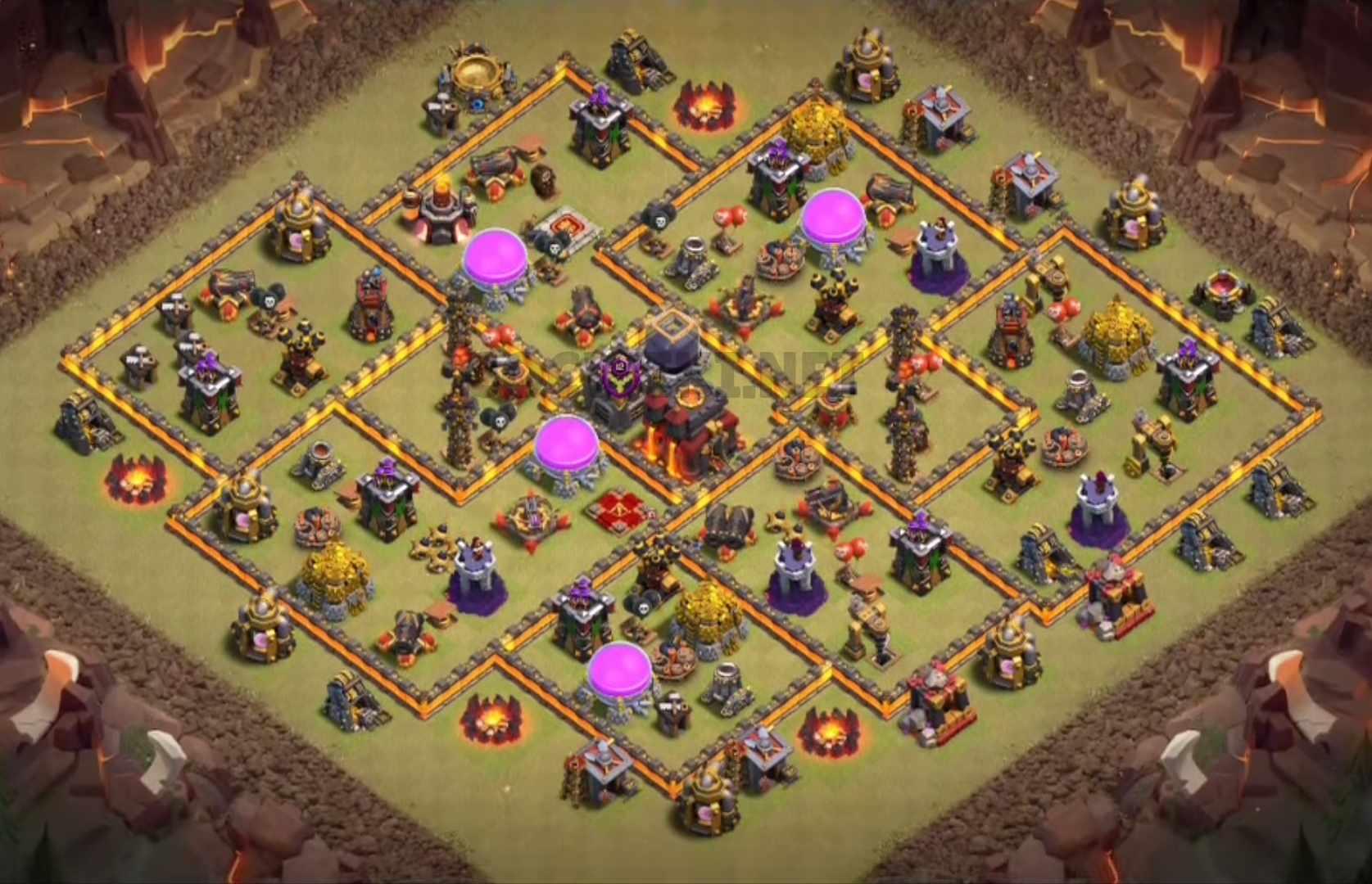 level ten clan war league design
