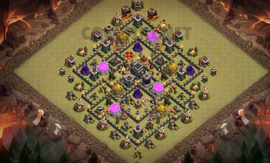 anti 3 stars layout level nine