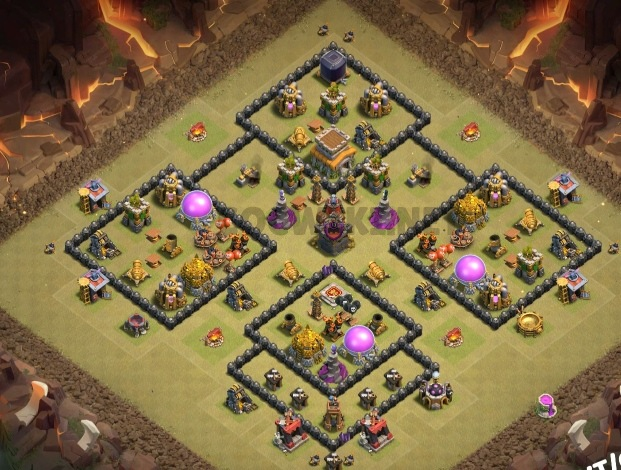 level 8 war design anti everything