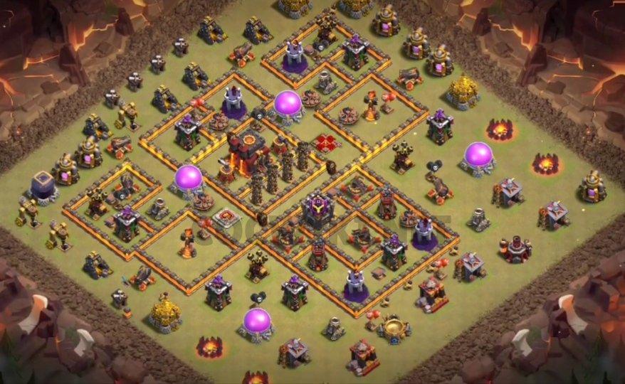 battle design for defending 3 stars