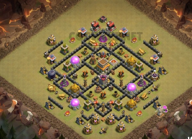 level eight clan war league design