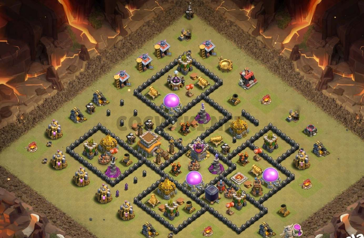 35 Best Th8 War Base Links 2020 Anti Dragons Cocwiki