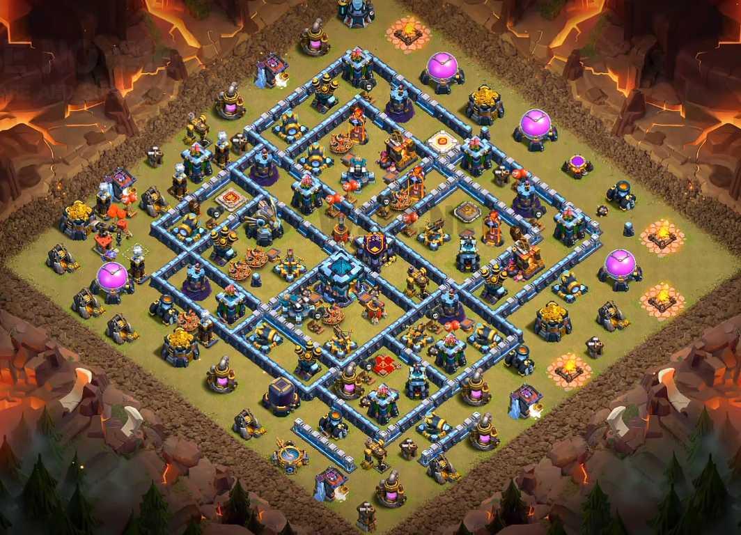 best th13 war base link
