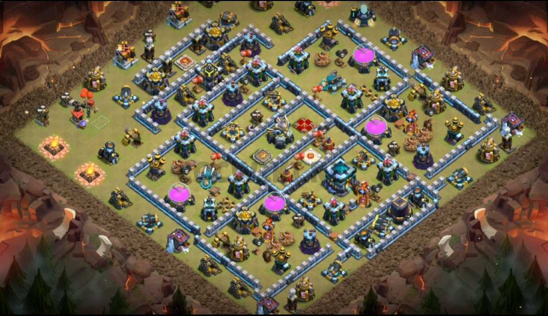 clash of clans town hall 13 base layout