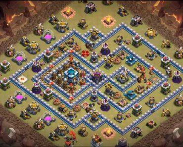best th13 war base links