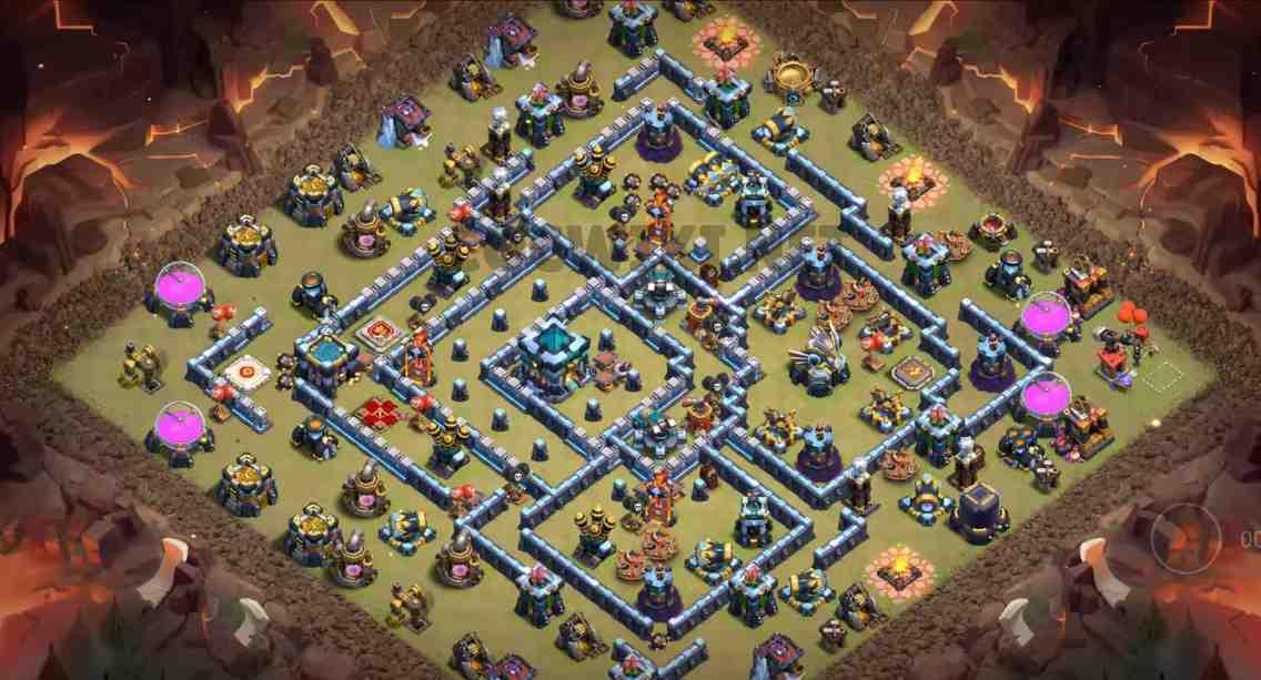 coc th13 war base