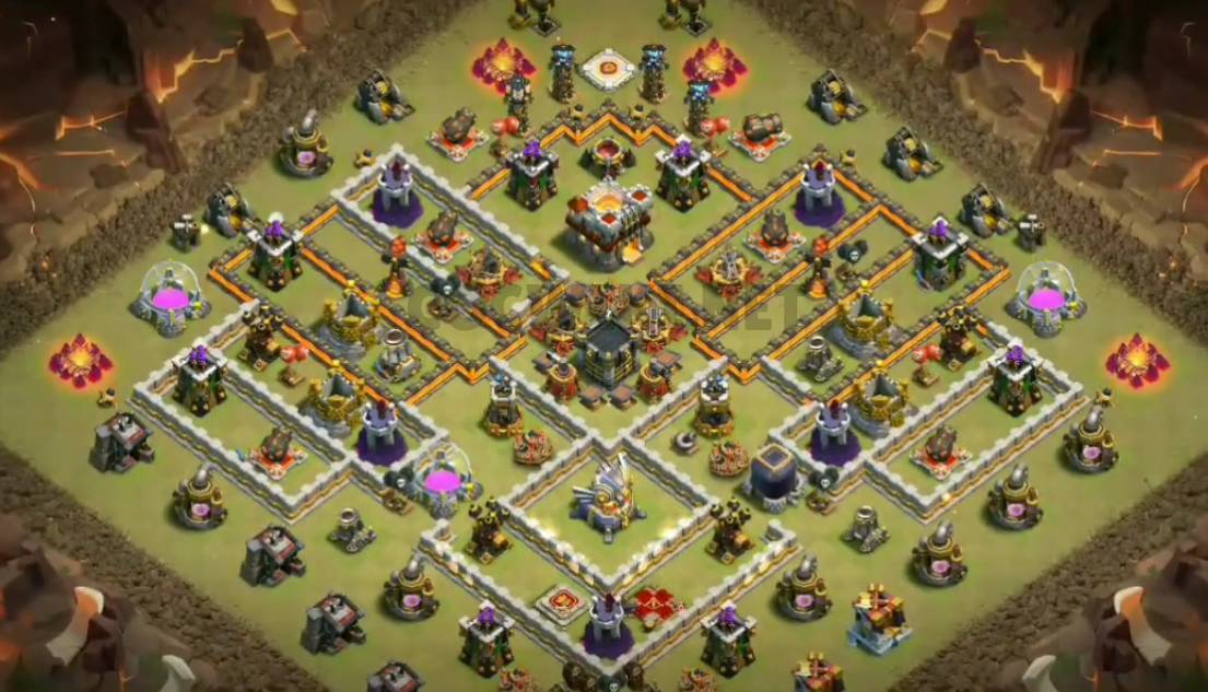 best clash of clans base town hall 11 link