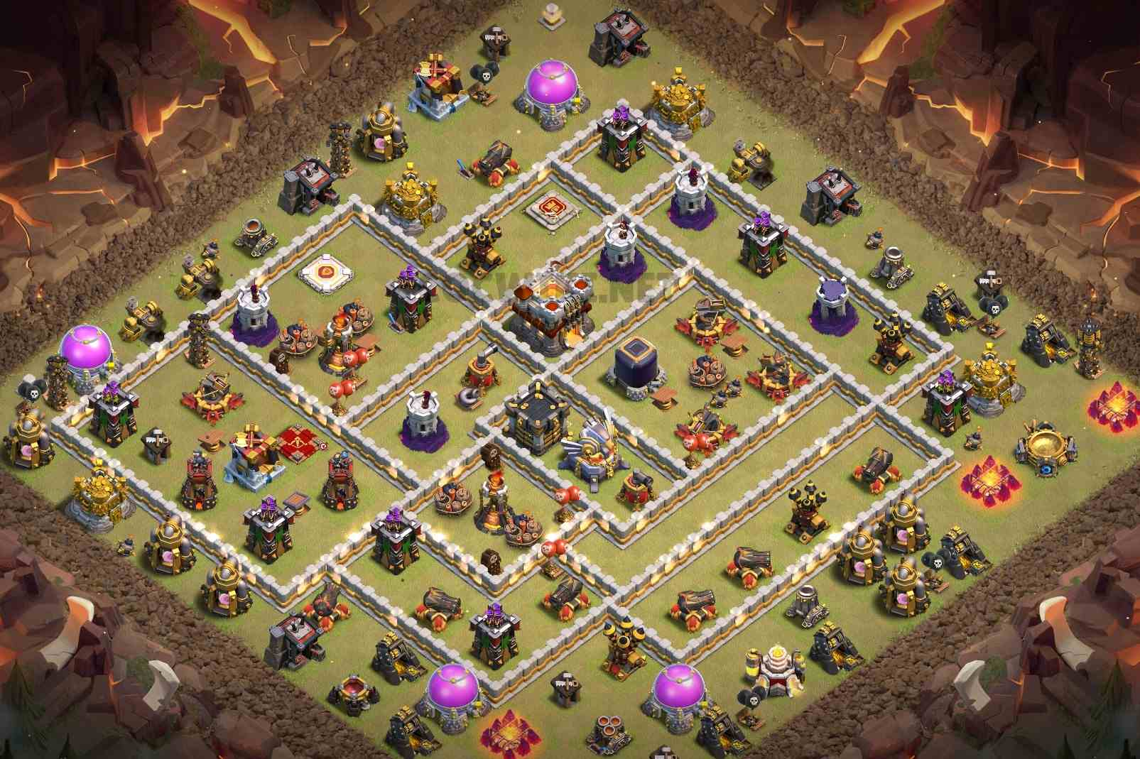 best th11 war base link