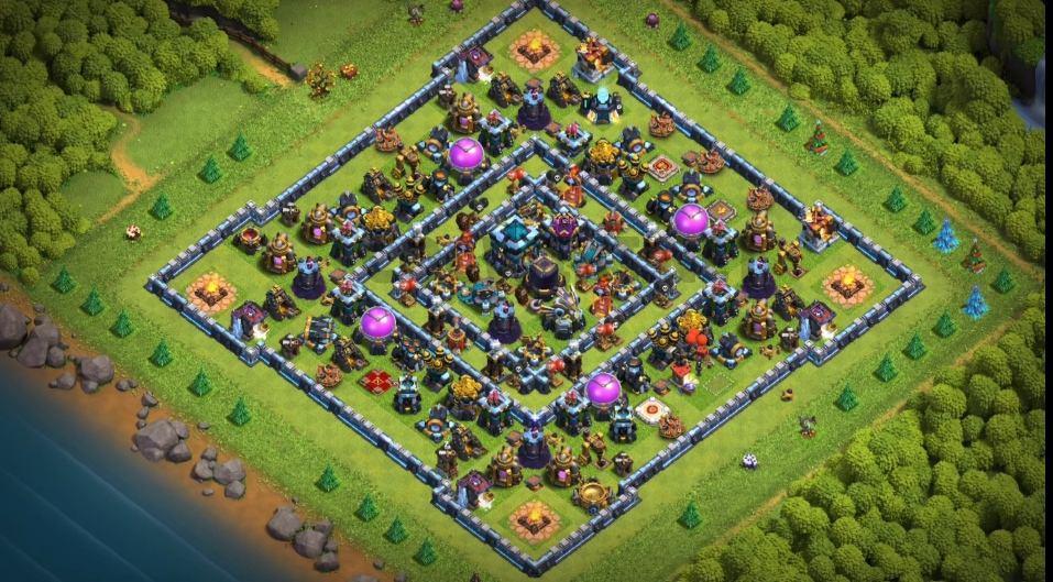 coc th13 farming base link