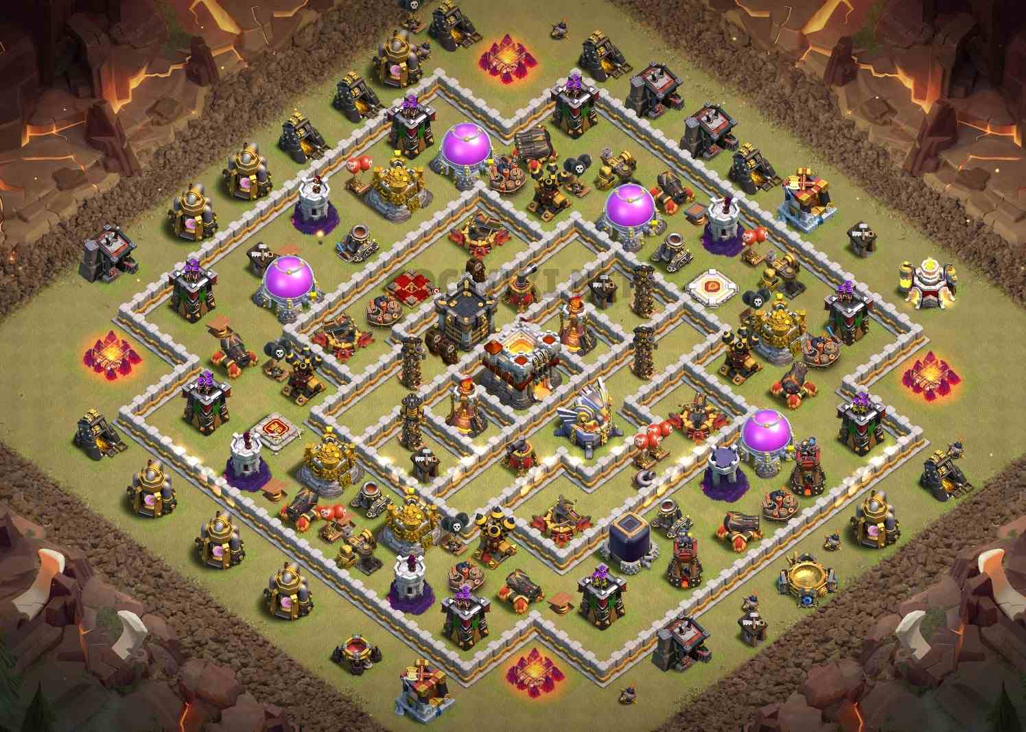 clash of clans anti 3 stars design town hall 11