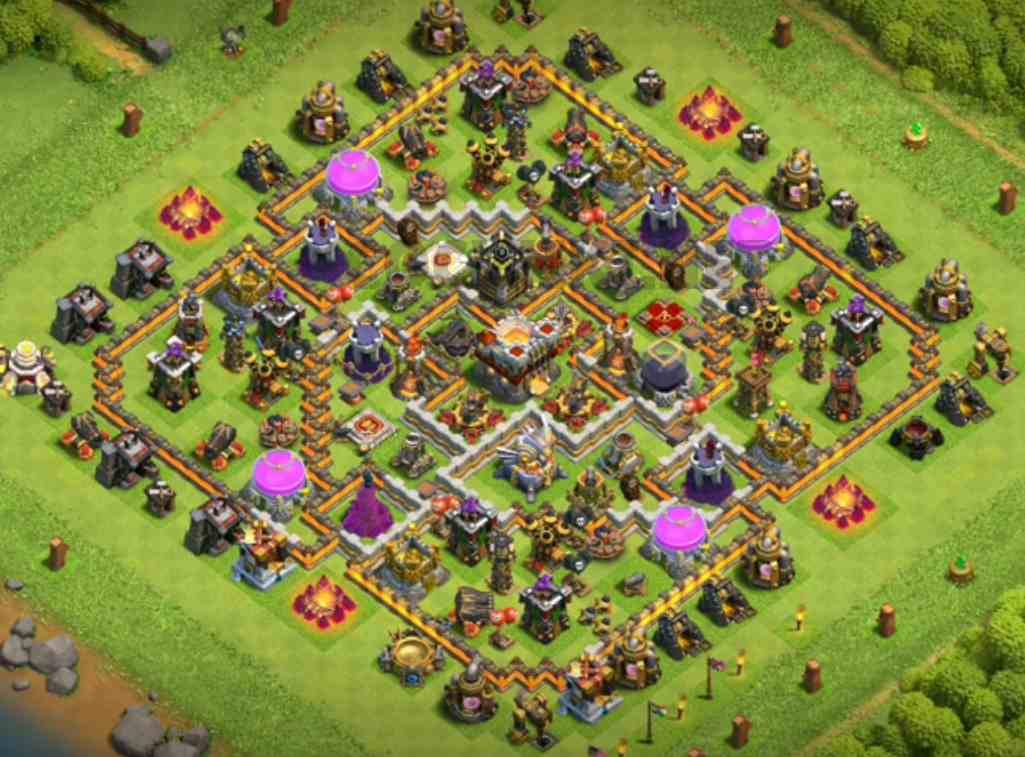 clash of clans th11 war layout link