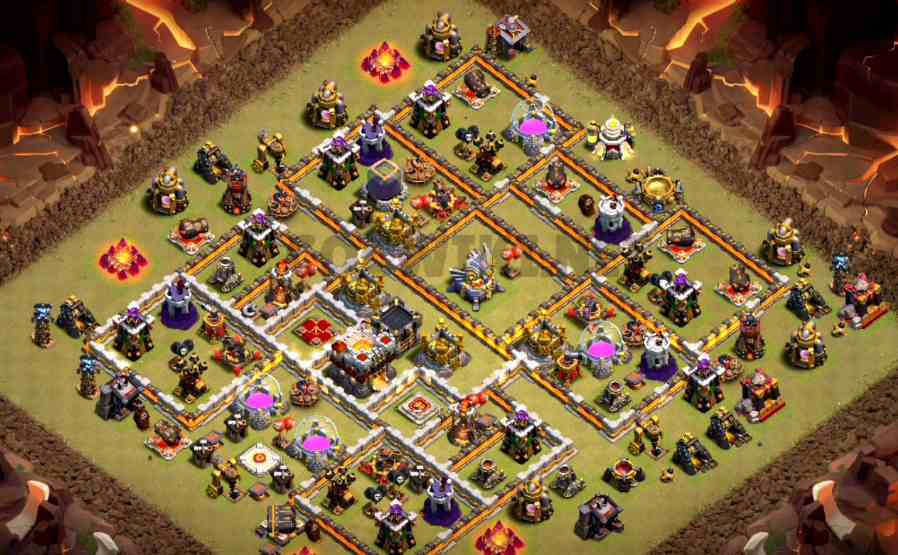 clash of clans town hall 11 base