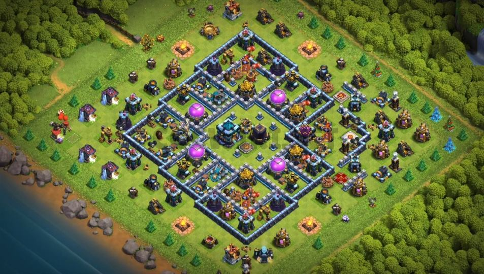 best clash of clans base town hall 13 link