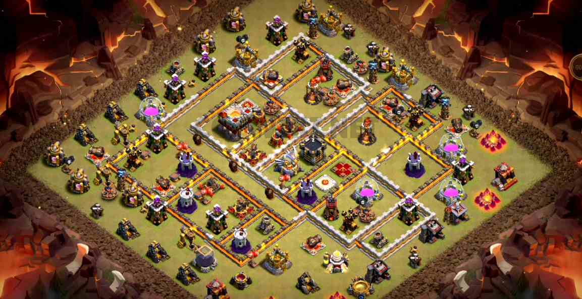 coc th11 war base link