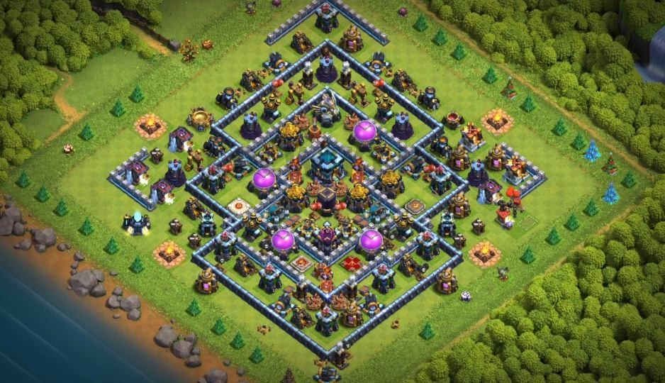 best th13 farming base link