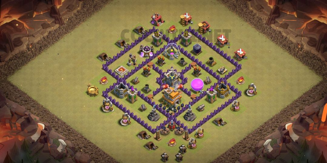 best th7 war base link