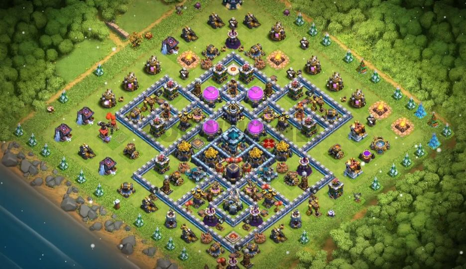 coc th13 farming base link