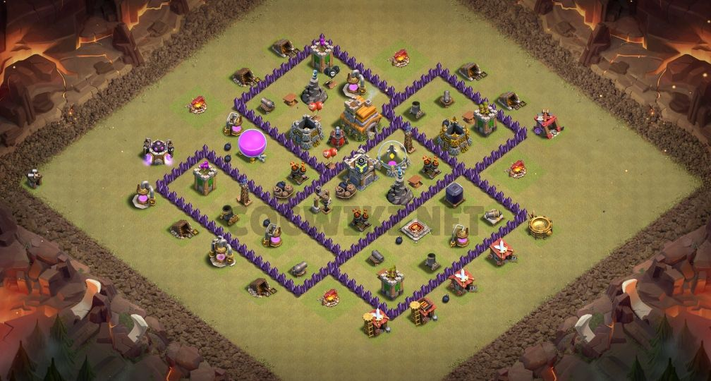 th7 war layout link anti 3 stars