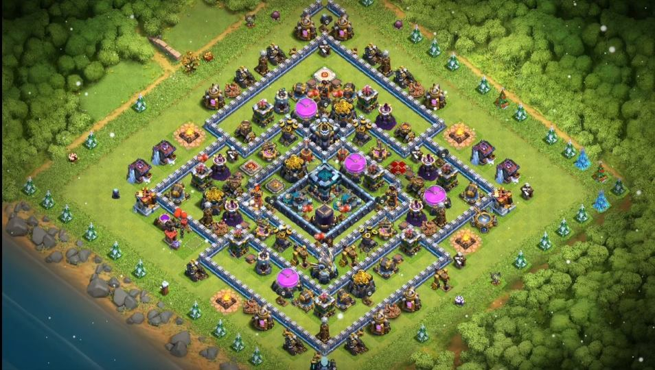 level thirteen farming base anti 2 star