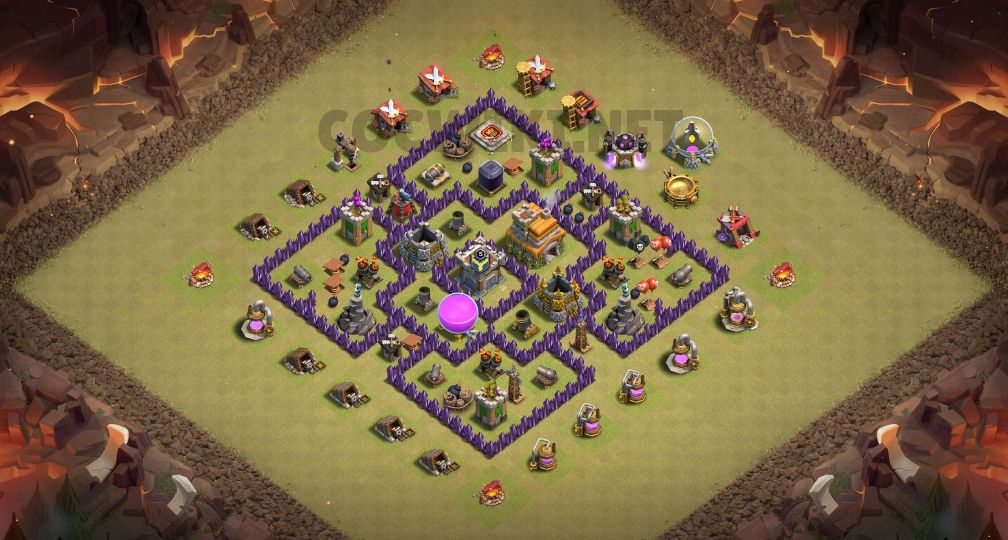 town hall 7 war base links anti 3 stars